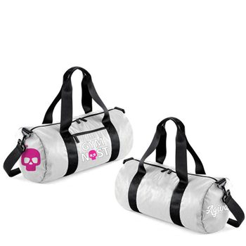 Studio barrel bag silver 9048G
